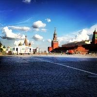 Das Foto wurde bei Roter Platz von Tasha Frambu am 7/24/2013 aufgenommen