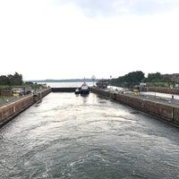 Photo taken at Kiel Canal by Şükrü F. on 8/17/2017