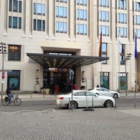 Photo taken at The Ritz-Carlton Berlin by Abt Daniil I. on 4/12/2013