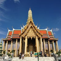 Photo taken at Temple of the Emerald Buddha by TheEarth P. on 5/20/2013