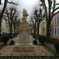 Photo taken at Saint-Zacharie by ʇuǝɹnɐ˥ ǝ. on 1/19/2013