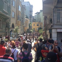 Photo taken at Cihangir by Betül K. on 6/1/2013