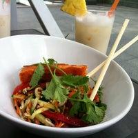 Photo taken at YAM YAM Thai Food & Café by Denisa C. on 6/27/2013
