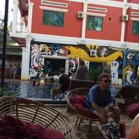 Photo taken at Downtown Siem Reap Hotel by Yulia K. on 12/2/2015