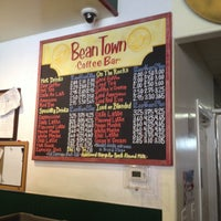 Photo taken at Bean Town Coffee House & Bakery by Cindy Y. on 7/28/2014