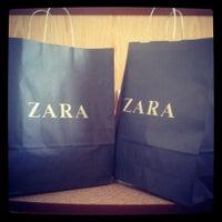 Photo taken at Zara Diagonal by Алёна Д. on 1/26/2014
