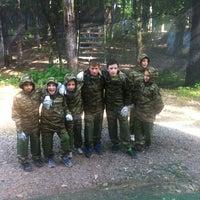 Photo taken at Пейнтбольный клуб Revolt by Hombre S. on 8/13/2013