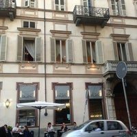 Photo taken at Piazza Carlo Alberto by Dario U. on 6/1/2013