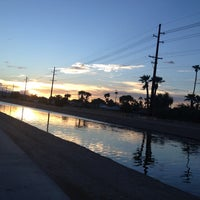 Photo taken at Tempe Canal @ Guadalupe Rd by Stu H. on 9/1/2013