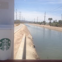 Photo taken at Tempe Canal @ Guadalupe Rd by Stu H. on 5/24/2014