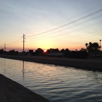 Photo taken at Tempe Canal @ Guadalupe Rd by Stu H. on 6/28/2013