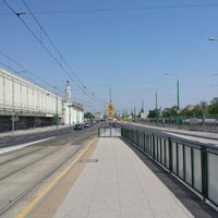 Photo taken at Przystanek Most Dworcowy by Martin M. on 5/23/2014
