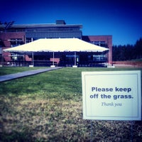 Photo taken at Cebula Hall: Saint Martin's University by Virgil A. on 4/23/2013