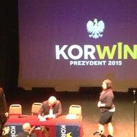 Photo taken at POSK Polski Ośrodek Społeczno-Kulturalny by John D. on 4/19/2015