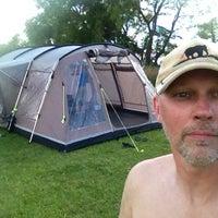 Photo taken at Grännastrandens Camping by Jan E. on 7/27/2013