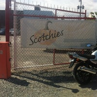 Photo taken at Scotchies Jerk Centre by KatE on 4/5/2013