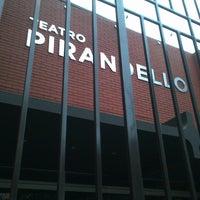 Photo taken at Teatro Luigi Pirandello by Eliana A. on 6/8/2013