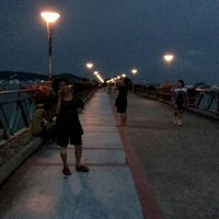 Photo taken at Chalong Bay Pier by Noopu P. on 5/18/2013