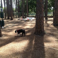 Photo taken at Daffin Park Dog Park by Jenny T. on 5/25/2013