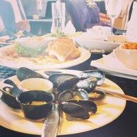 Photo taken at Wharf Seafood Restaurant by Ashjan♉ on 10/15/2013