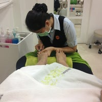 Photo taken at Take Care Beauty Salon and Spa by LiL'P P. on 10/26/2013