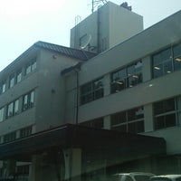 Photo taken at 遠野地区合同庁舎 by イ力 on 6/16/2014