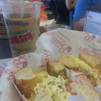 Photo taken at Original Brooklyn Water Bagel Company by Chad C. on 4/20/2013
