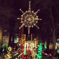 Photo taken at Temple Square by Lauren L. on 12/12/2012