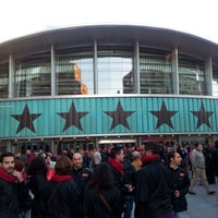Photo taken at Wizink Center - Palacio de Deportes de la Comunidad de Madrid by Ramón R. on 11/6/2012