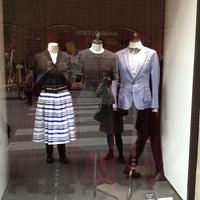 Photo taken at Dolce&Gabbana by Claudio B. on 4/9/2013