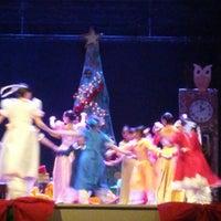 Photo taken at Teatro Municipal José Bohr by Miroslava J. on 12/22/2014