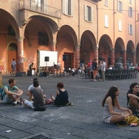 Photo taken at Piazza Verdi by Emilio p. on 7/12/2013