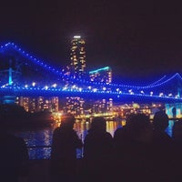 Photo taken at Story Bridge by Kunal G. on 8/18/2013