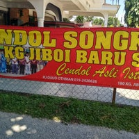 Photo taken at Cendol Songkok Tinggi by Ahhmad's S. on 2/4/2018