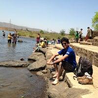 Photo taken at Saguna Baug by Sheetal K. on 3/30/2013