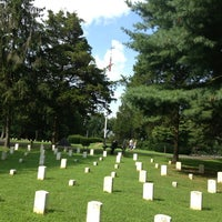 Photo taken at Stones River National Cemetery by Alex S. on 8/10/2013