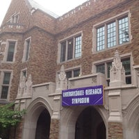 Photo taken at UW: Mary Gates Hall by Alex S. on 5/18/2013