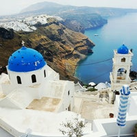 Photo taken at Santorini by Михаил А. on 5/11/2013