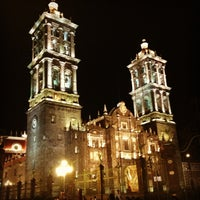 Photo taken at Zócalo by Laura C. on 3/27/2013