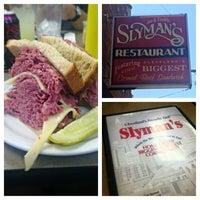 Photo taken at Slyman's Restaurant by Rachel B. on 7/15/2013