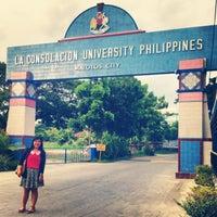 Photo taken at La Consolacion University Philippines (Formerly University of Regina Carmeli) by Michelle M. on 5/28/2013