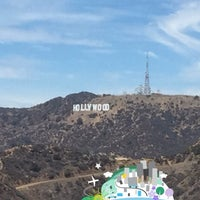 Photo taken at Hollywood Sign View by nahla on 8/5/2015