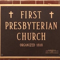 Photo taken at First Presbyterian Church by Craig W. on 12/1/2013