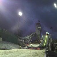 "Photo taken at ""RusSki Gorki"" Jumping Center by Mikhail M. on 12/7/2012"