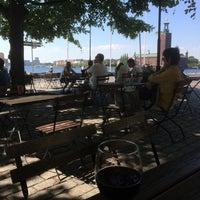 Photo taken at Café Riddarholmen by Lotte on 7/9/2014