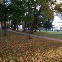 Photo taken at Dog Walking@kenaupark by Andrea 🍀 on 10/17/2013