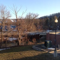 Photo taken at Downtown Ellicottville by Eric H. on 3/31/2014