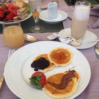 Photo taken at Kempinski Breakfast Bar by Vita K. on 6/13/2016