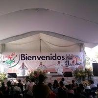Photo taken at Feria Chiles en Nogada Calpan 2014 by Charlie B Z. on 8/17/2014