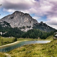 Photo taken at Standseilbahn Wurzeralm Talstation by Anna B. on 8/21/2013